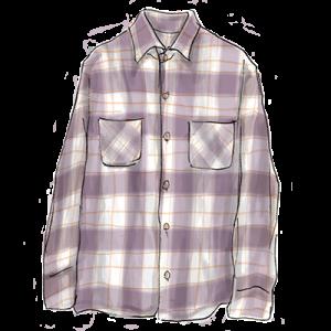 90年代ファッション「チェックシャツ」