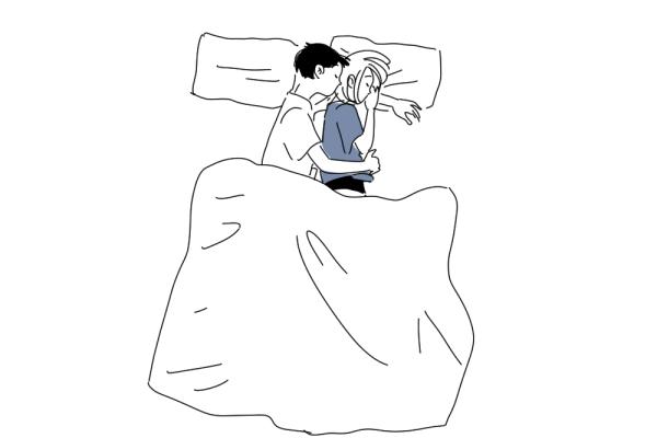 て 男性 心理 寝る 抱きしめ