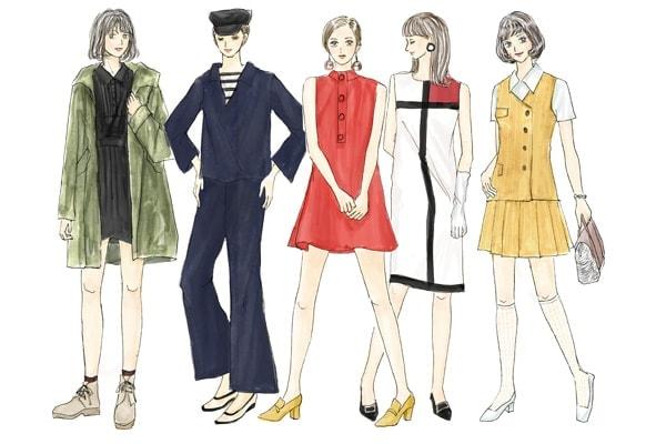 60年代レディースファッションの特徴