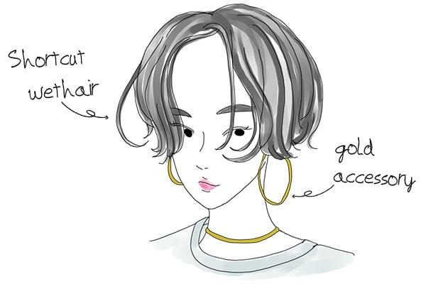 イラスト解説かっこいい女の特徴7つ髪型服装メイクのコツ