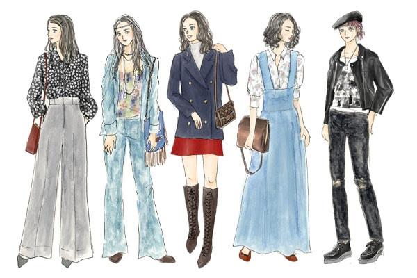 ヒッピーが流行? 「70年代ファッション」とは【イラストで解説