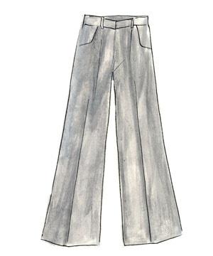 70年代ファッションアイテム「ベルボトム」