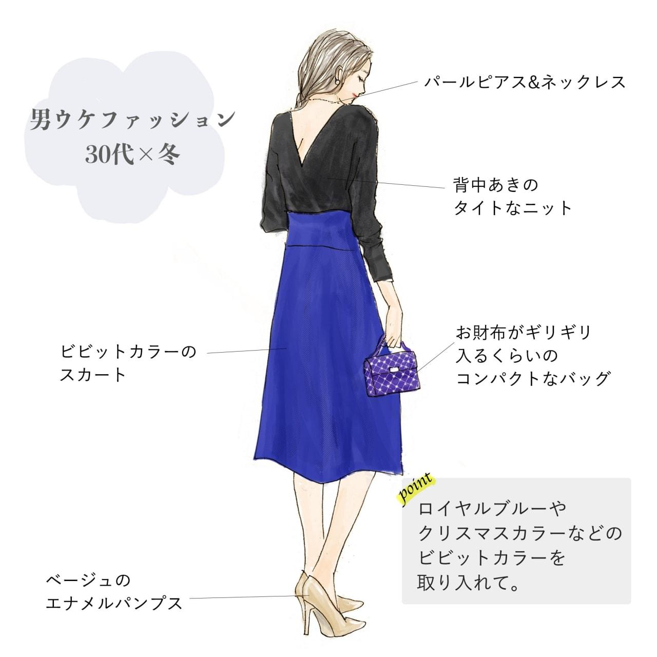男ウケファッション 30代×冬