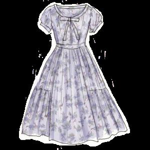 1950年代ファッション「落下傘ドレス」