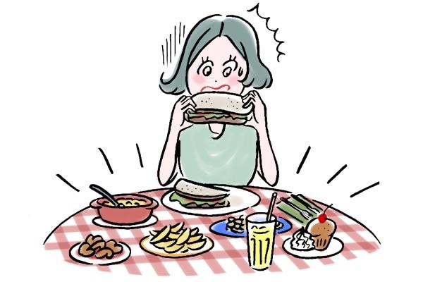 生理前の食欲が止まらないのはなぜ? 食欲をコントロールする方法
