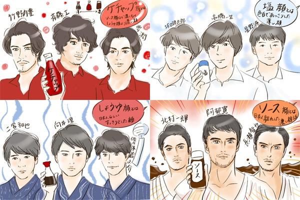 しょうゆ 顔 芸能人 日本人に多いしょうゆ顔とは?顔の特徴や芸能人、最新イケメン塩顔男...