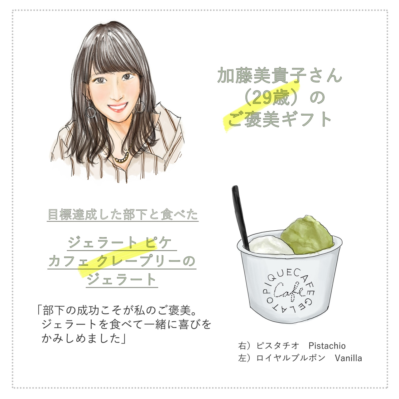 20代でマネージメントもする営業女子のご褒美とは_加藤美貴子さん