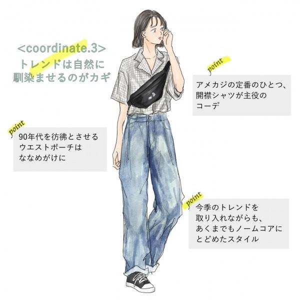 ノームコアファッション3「トレンドは自然に馴染ませるのがカギ」