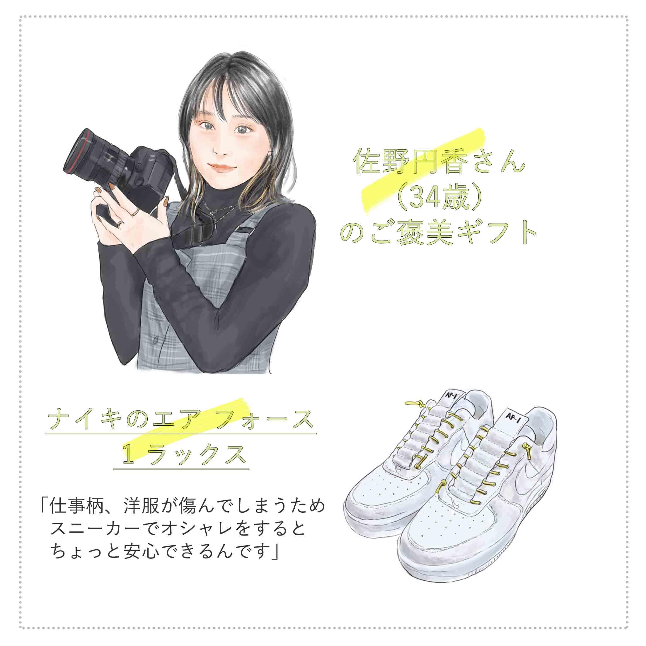 フォトグラファーとしてグラビア撮影などで活躍されている佐野円香さん(34歳)