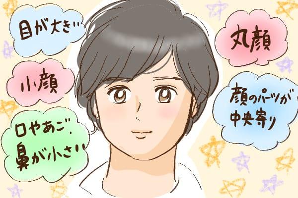 童顔男性の基準とは。「童顔」な顔の条件