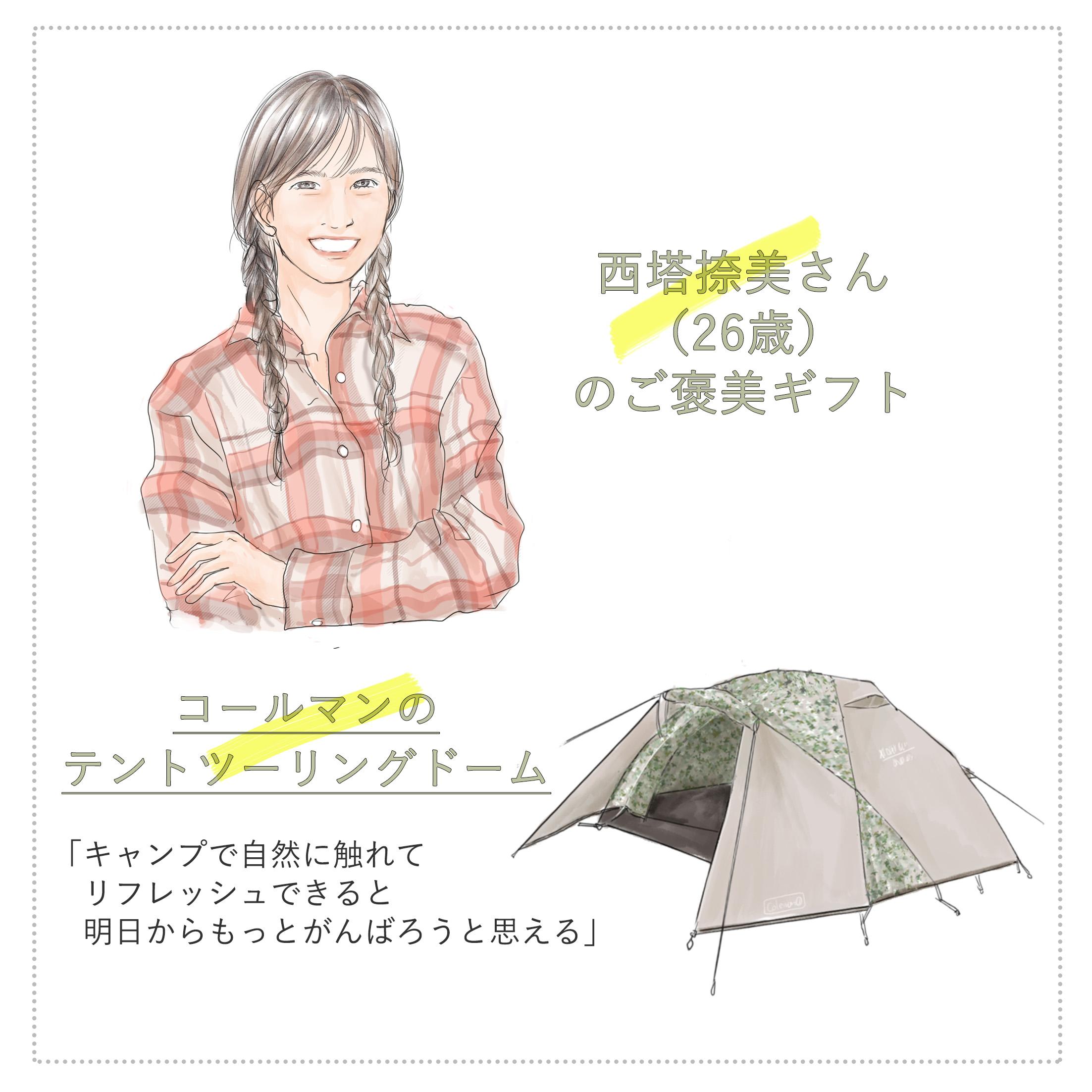 ITマーケティング企業の営業職の西塔捺美さん(26歳)