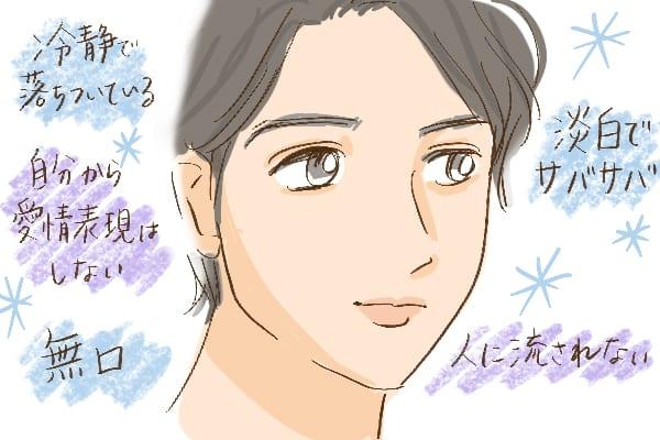 上唇が薄い男性の性格やキャラクター