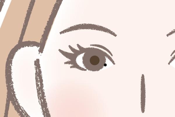 目の中のほくろ⇒指原莉乃さん