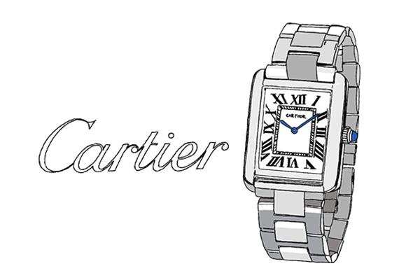 Cartier タンク ソロウォッチ