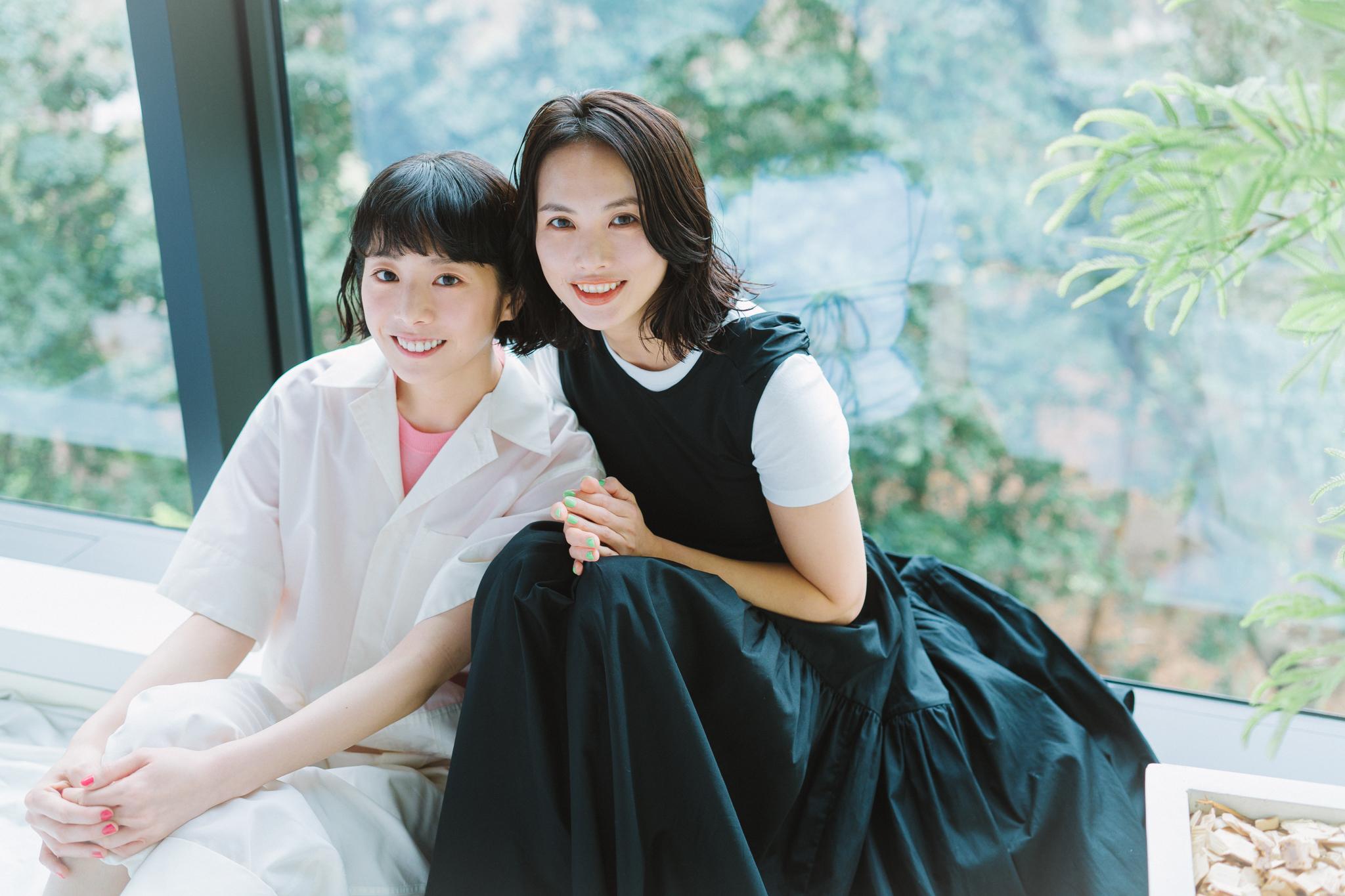戦う女性の息抜きに。夏帆・臼田あさ美『架空OL日記』インタビュ—