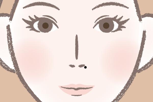 鼻のほくろが印象的な芸能人 沢口靖子さん⇒金満ぼくろを除去