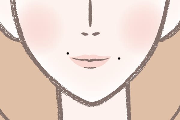 吉瀬美智子さん(口角)⇒頭の回転が速く、しゃべりも達者