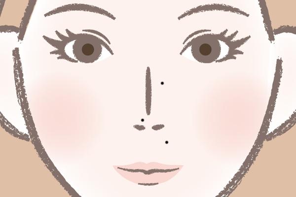 鼻のほくろが多い人の運勢は?