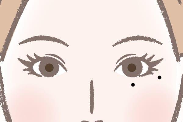 滝沢秀明さんの泣きぼくろ「女性に翻弄される」