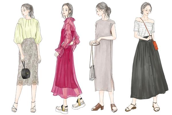 コケティッシュとは。コケティッシュファッションの特徴