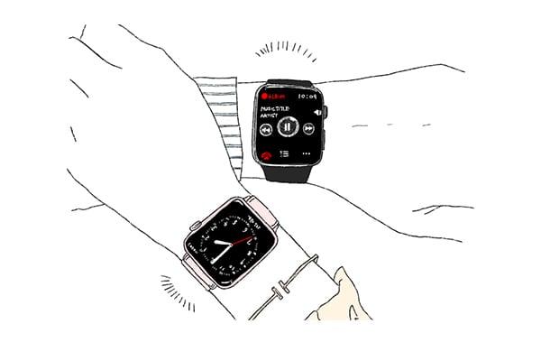 カップル向けのペアグッズ 腕時計
