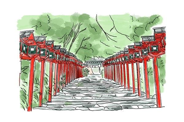 京都 縁結び 神社 貴船神社