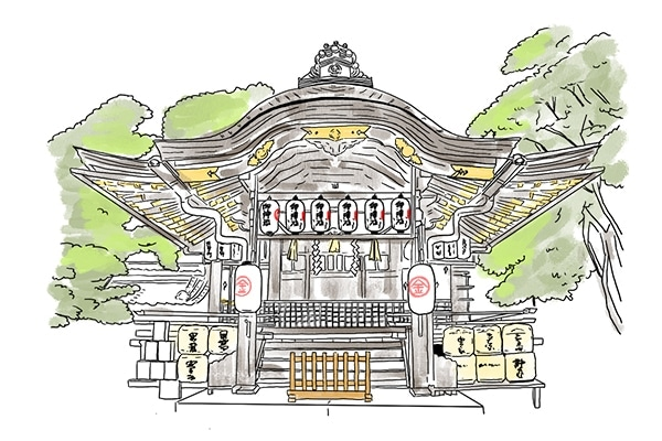 京都 縁結び 神社 安井金比羅