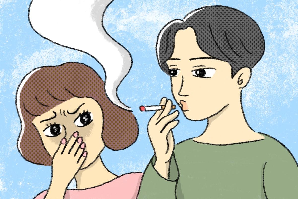 「彼氏のたばこ」が気になる時の対処法
