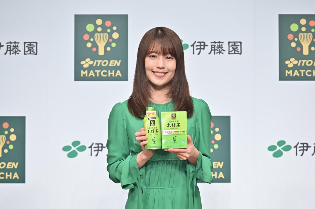 有村架純もお抹茶の魅力を絶賛。伊藤園「お~いお茶 お抹茶」が新発売