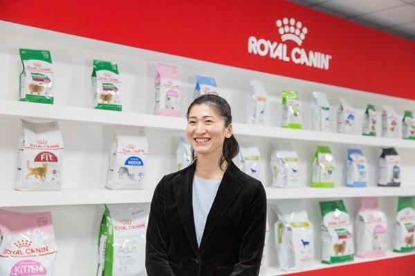 「ロイヤルカナン ジャポン」の草野淳子さん