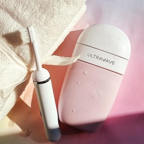 持ち運びに最適! ULTRAWAVEから除菌ができる電動歯ブラシ登場