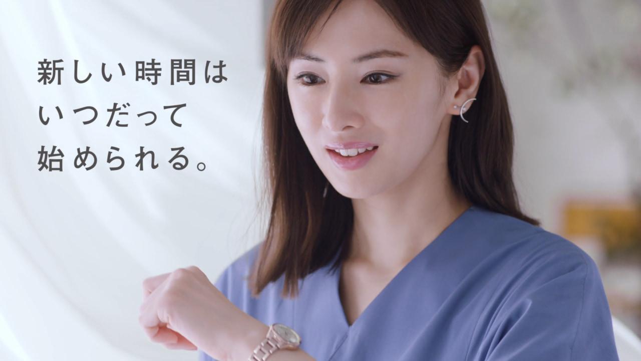 女性の新スタートを応援。北川景子「シチズンクロスシー」CM登場