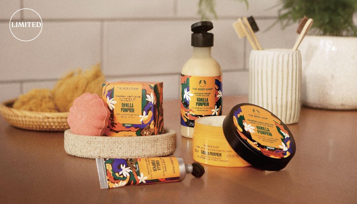甘い香りにうっとり。バニラパンプキン香るボディアイテムで保湿ケア