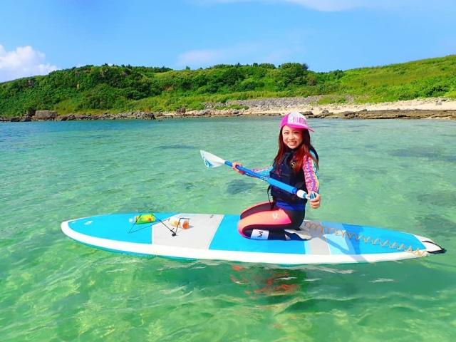 海が好き✨  キレイな海を求めて また来ちゃった😆🎶  #宮古島 #沖縄 #沖縄離島 #離島 #海 #SUP #宮古ブルー #海好き #青い空 #綺麗な海 #癒し #直行便 #また来年 #夏の思い出 #夏休み #はたらくmuse #summervacation #trip #privatebeach #remoteisland #island #superbview #beautifulsea #はいさいFESTA #沖縄好きな人と繋がりたい